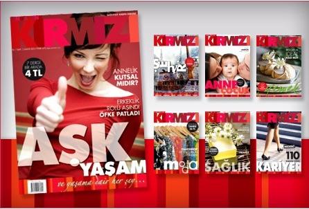 Rengarenk Kırmızı Dergisi